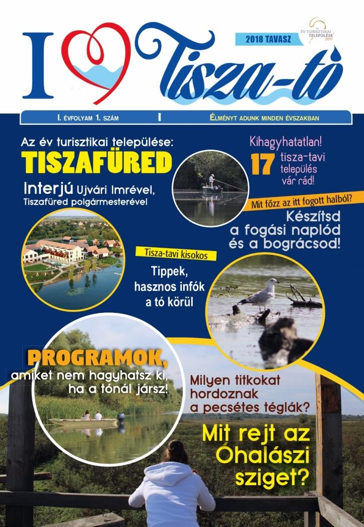 I love Tisza-tó Magazin 2018