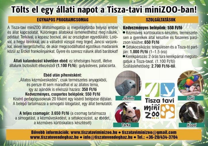 Tisza-tavi Mini Zoo