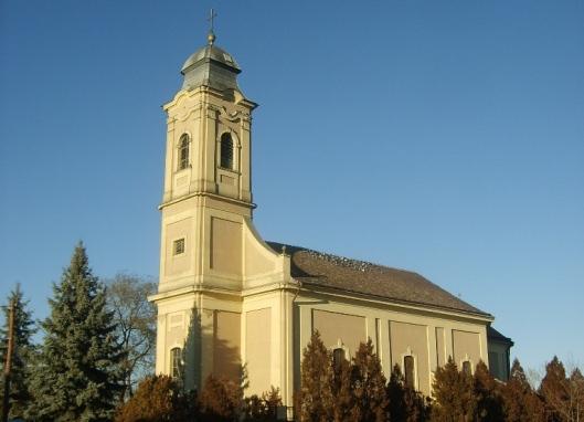 tiszafured templom